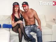 TransBella - Isabella Branco Horny Brazilian ts Rough booty Fuck With dirty stud