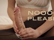 Ruined orgasm with cum Fountain - Double Cumshot under Torture